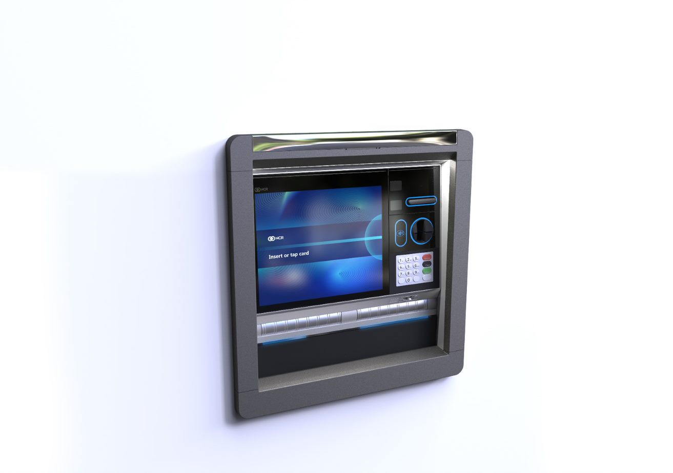 NCR SelfServ 84 Drive-Up Exterior Through-the-Wall Multi